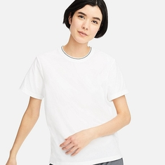 100% Cotton High Quality Women Cotton Tshirt for summer wear supplier