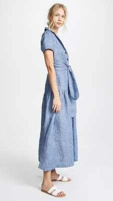 Clothing Manufacturer Striped Maxi Dresses For Women Summer supplier